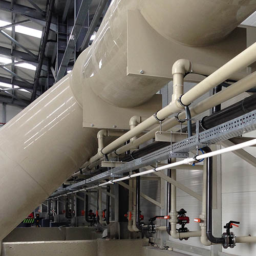 Galvanized plant installation | Chemical Transfer Systems-1