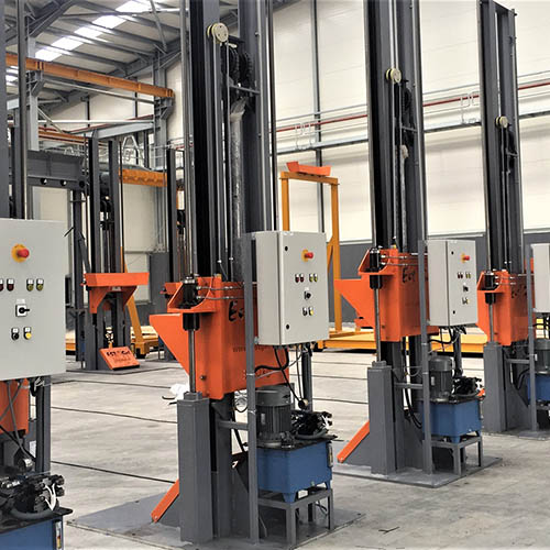 Galvanized plant installation | Loading / Unloading Systems-1