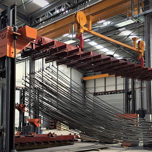Galvanized plant installation | Loading / Unloading Systems-2