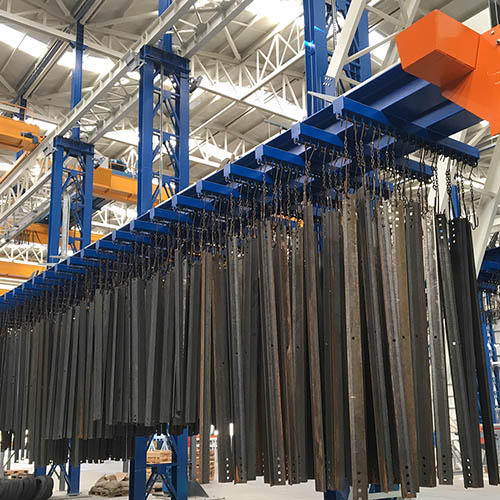 Galvanized plant installation | Loading / Unloading Systems-5