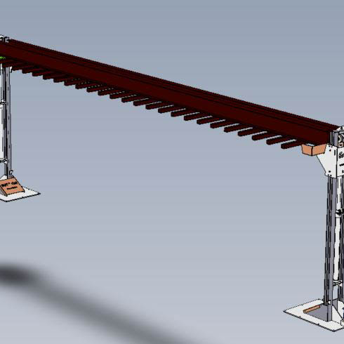 Galvanized plant installation | Loading / Unloading Systems-6